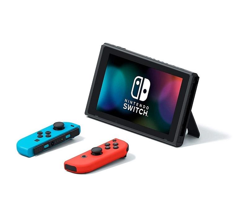 Console Nintendo Switch 32Gb Neon + Controle Joy-Con Azul e Vermelho