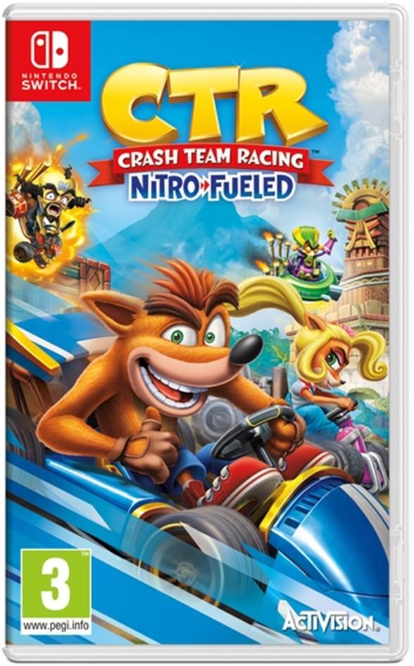 Console Nintendo Switch com Crash Team Racing Nitro Fueled
