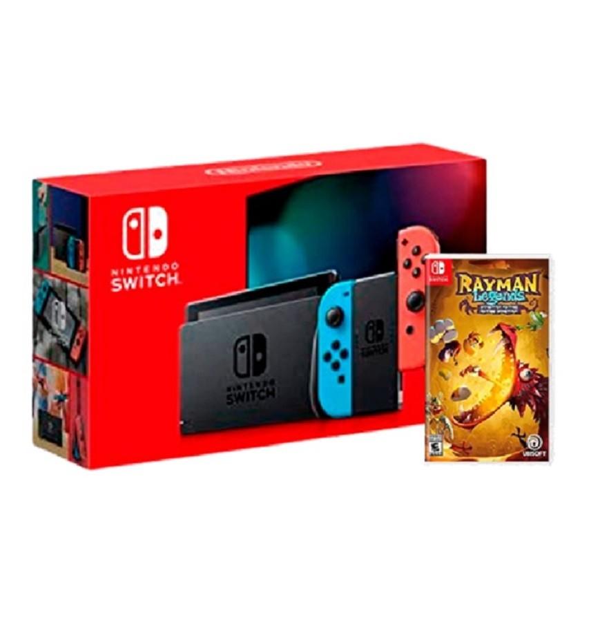 Console Nintendo Switch com Jogo Rayman Legends