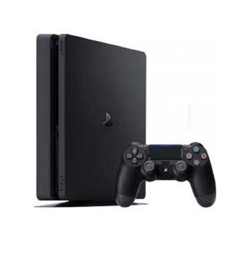 Console PS4 Slim 1TB HDR Petro com 1 CONTROLES sem fio Dualshock 4 pretro + 1 Headset com fio