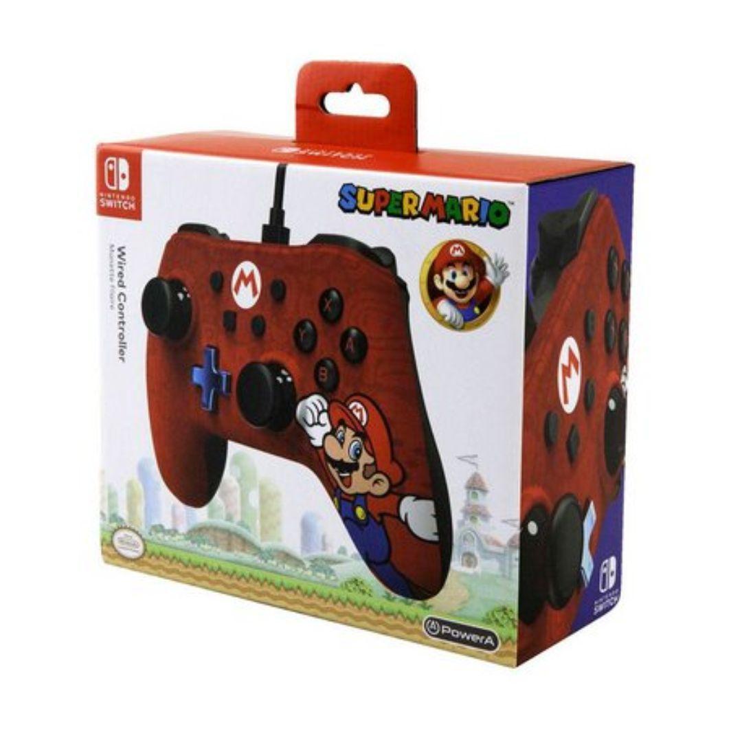 Controle Nintendo Switch com fio Super Mario Power A