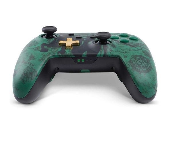 Controle Nintendo Switch (SEM Fio) The Legend of Zelda Verde Camuflado