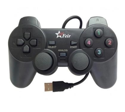 (Acompanha Brinde Exclusivo) Controle para PC Feir USB