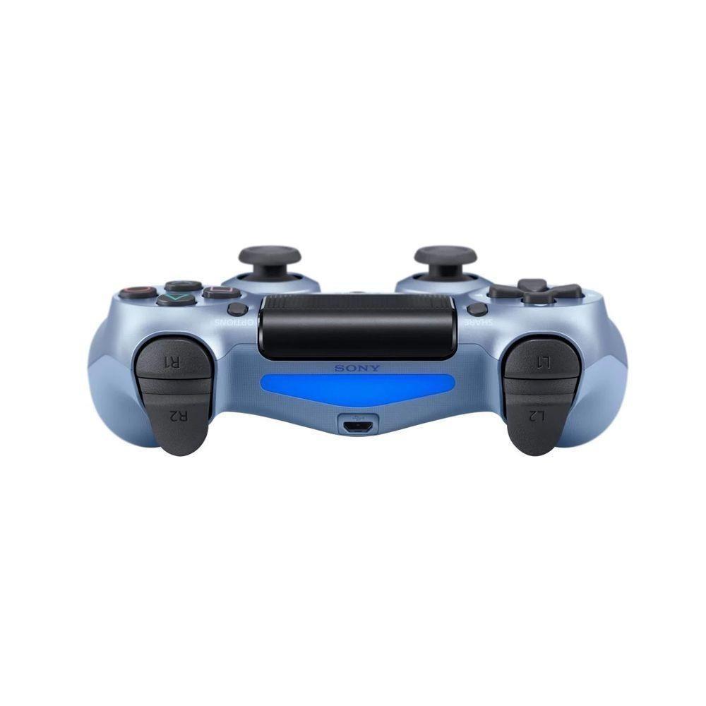 Controle Sem Fio Dualshock 4 para PS4 - Azul Titânio