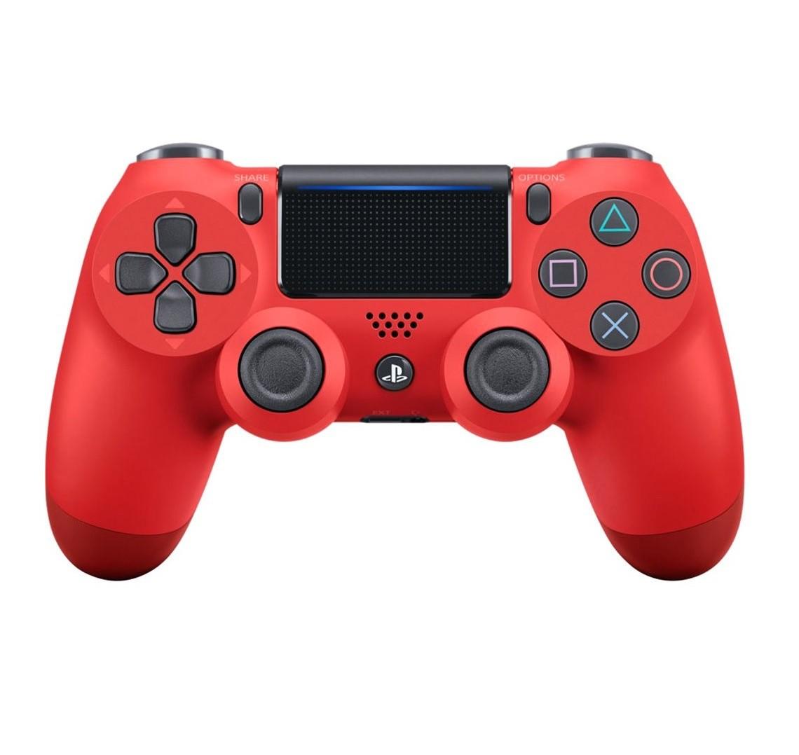Controle Sem Fio Dualshock 4 para PS4 - Vermelho