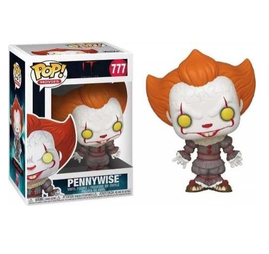 Funko Pop 777 Pennywise It a Coisa
