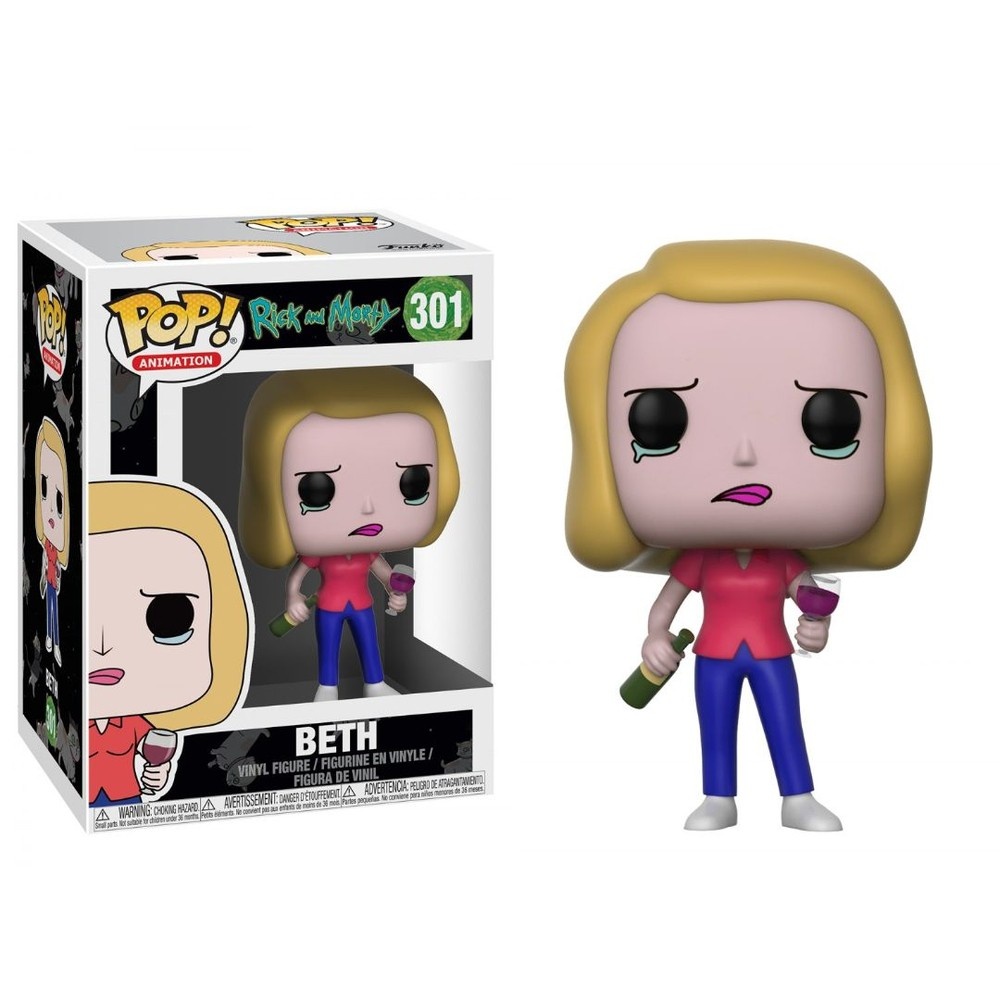 Funko Pop Animation: R&M Beth Wine Glass