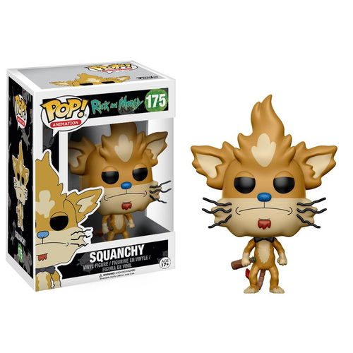 Funko Pop Animation RM Squanchy