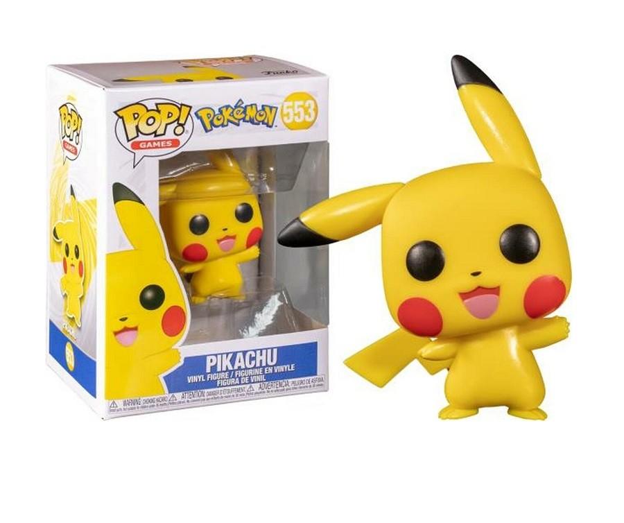 Funko Pop Games Pokemon - Pikachu 553 (Waving)