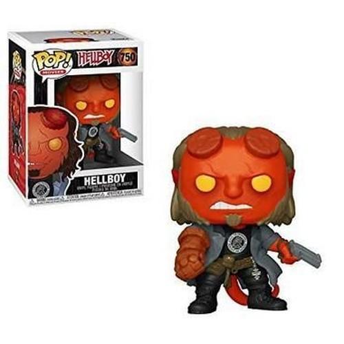 Funko Pop Hellboy With Bprd Tee