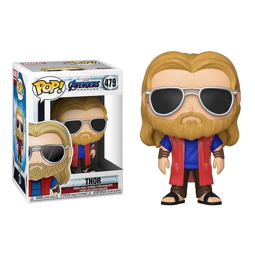 Funko Pop Marvel: Avengers End Game Casual - Thor