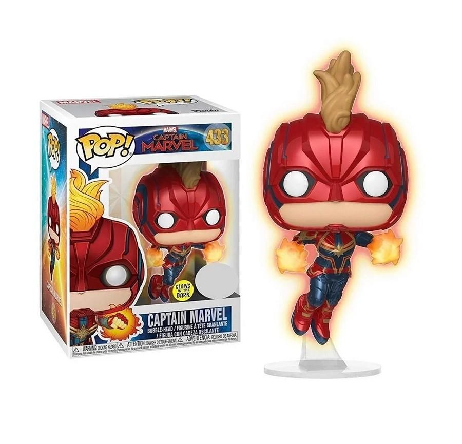 Funko Pop Marvel Captain Marvel 433 Exclusive ATC