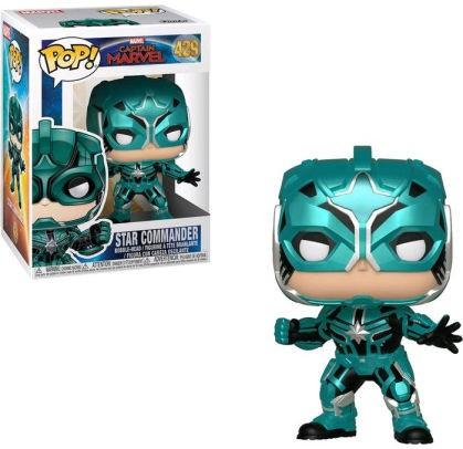 Funko Pop Marvel Captain Marvel Star Command