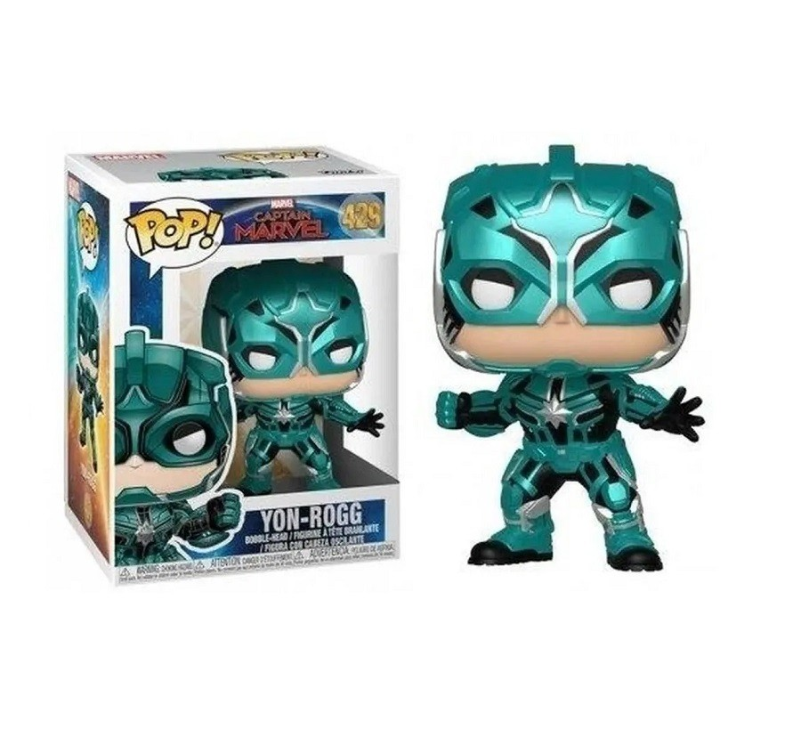 Funko Pop Marvel Captain Marvel Yon-Rogg 429