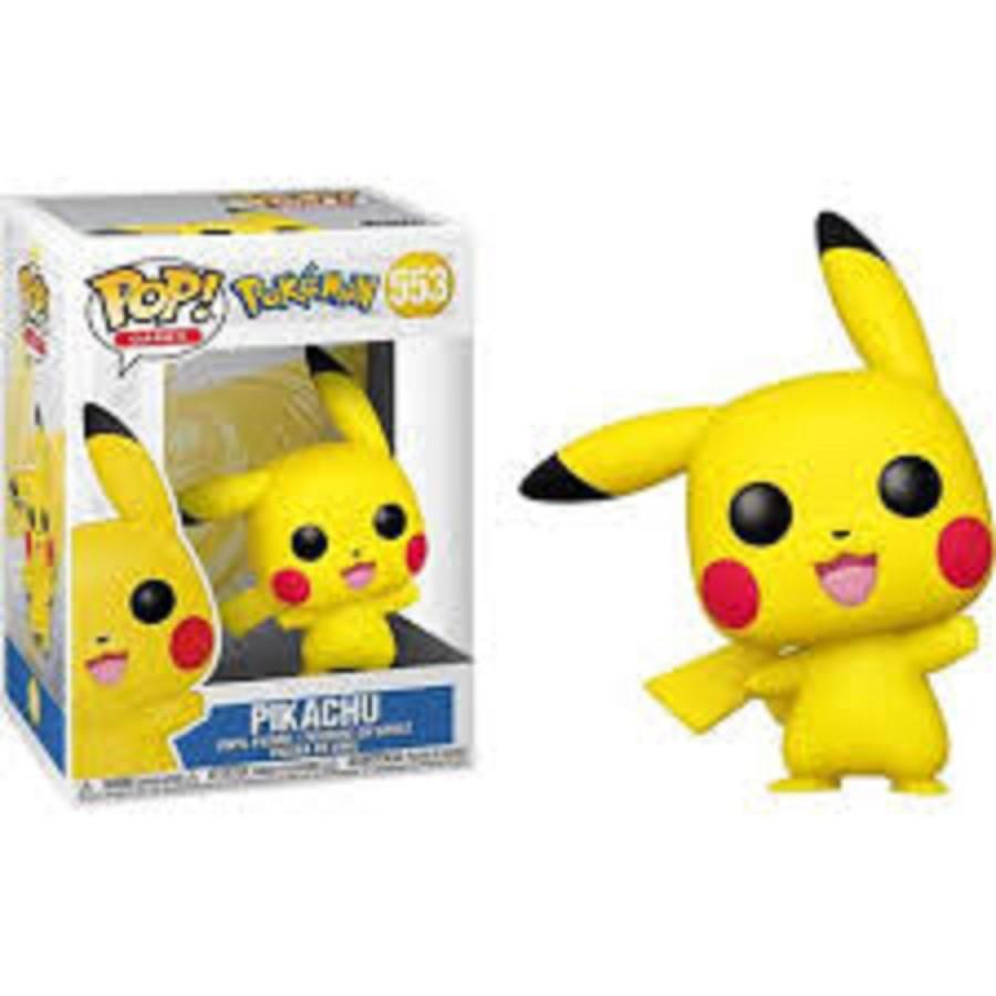 Funko Pop Pokemon Pikachu Waving