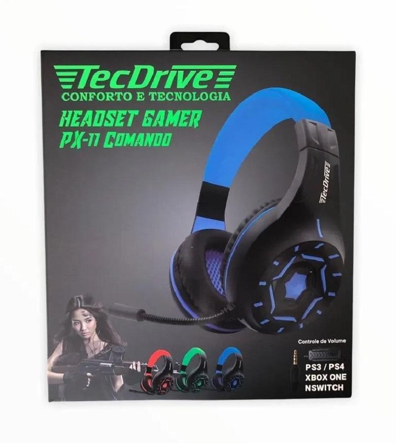 Headset Gamer TecDrive PX11 Comando