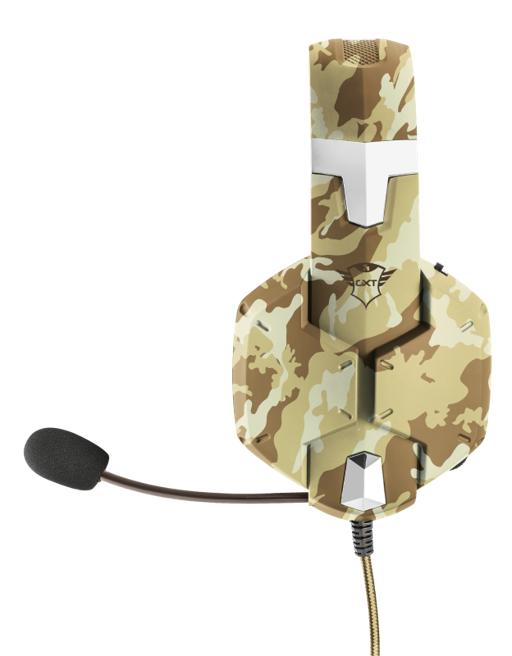Headset Gamer Trust Deserto GTX 322 Carus PS4/XONE/SWITCH/PC