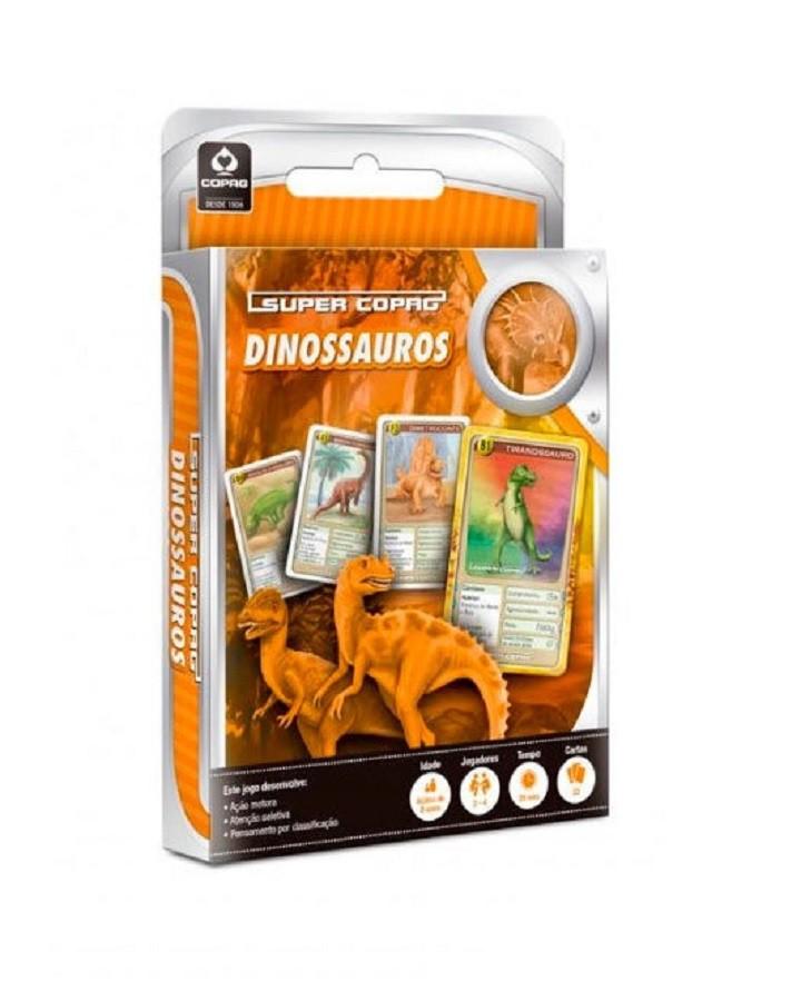 Jogo de Cartas Super Dinossauros - Banana