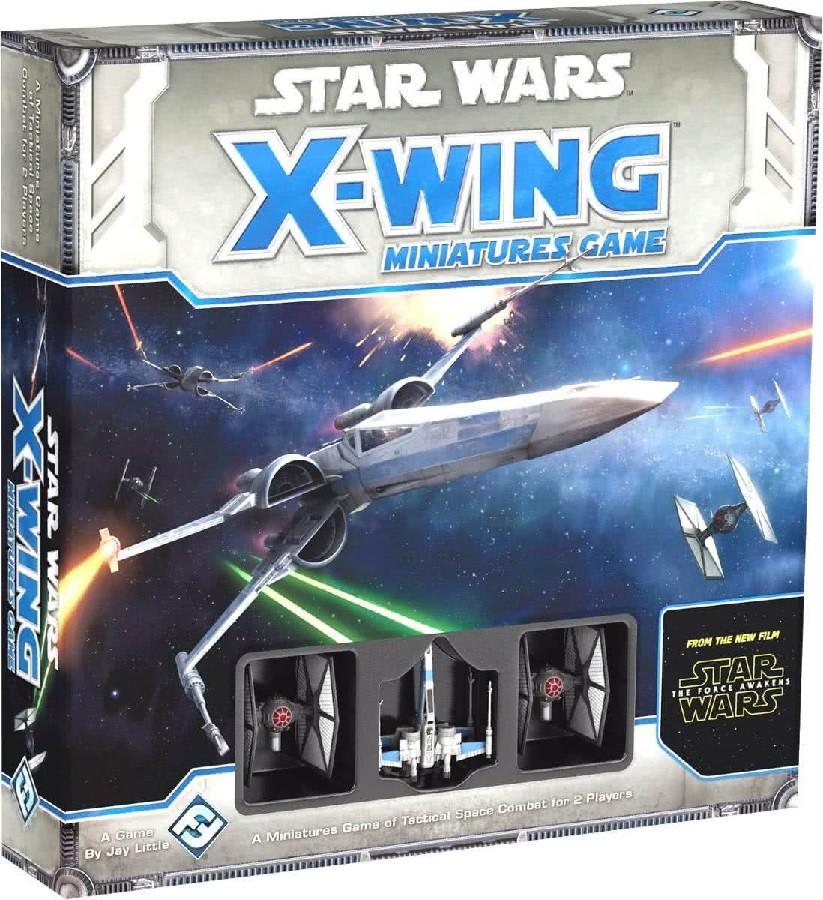 Jogo de Combate de Miniaturas Star Wars O Despertar da Força X-Wing - Galapagos