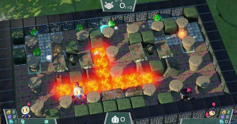 Jogo Kon Nintendo Switch Super Bomberman