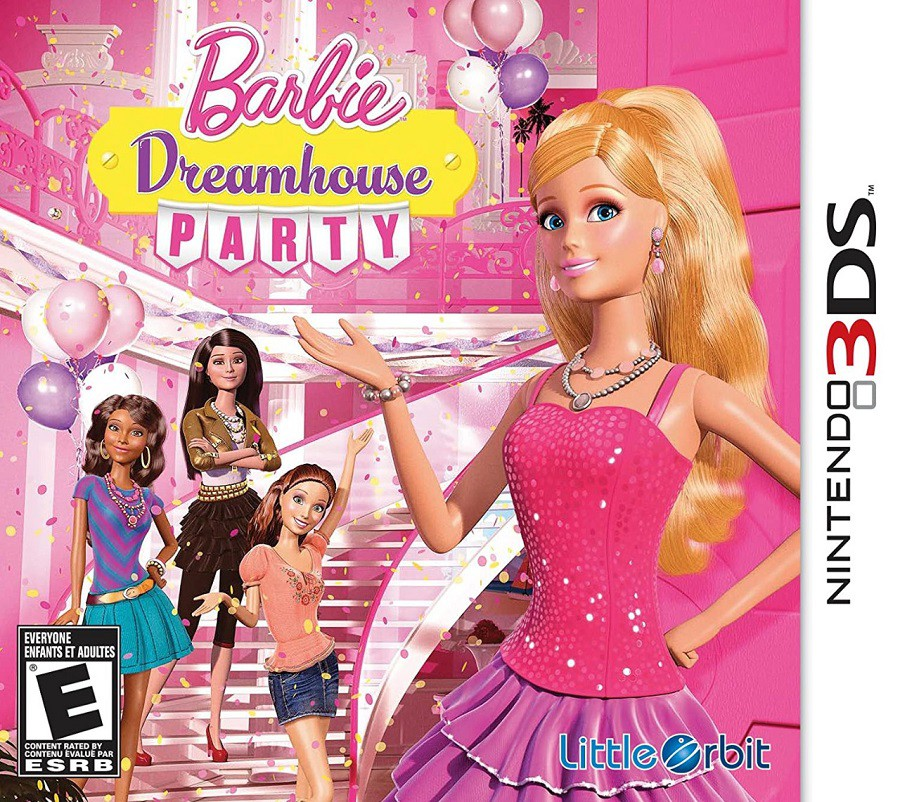 Jogo Nintendo 3DS Usado Barbie Dreamhouse Party