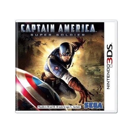 Jogo Nintendo 3DS Usado Captain America: Super Soldier