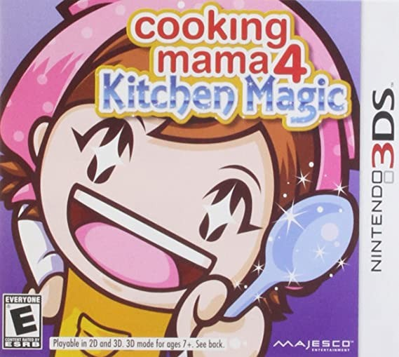 Jogo Nintendo 3DS Usado Cooking Mama 4: Kitchen Magic