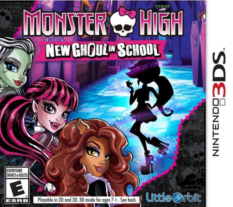 Jogo Nintendo 3DS Usado Monster High: Ghoul Spirit