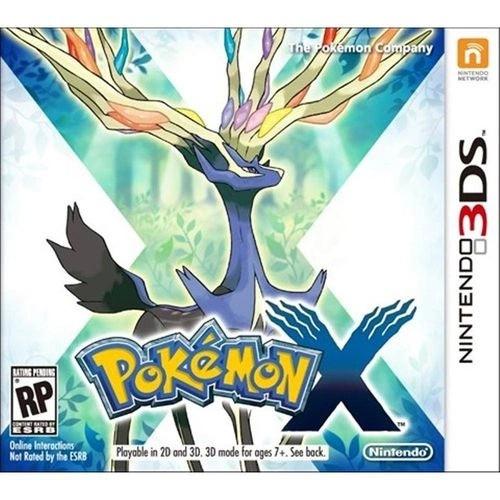 Jogo Nintendo 3DS Usado Pokemon X