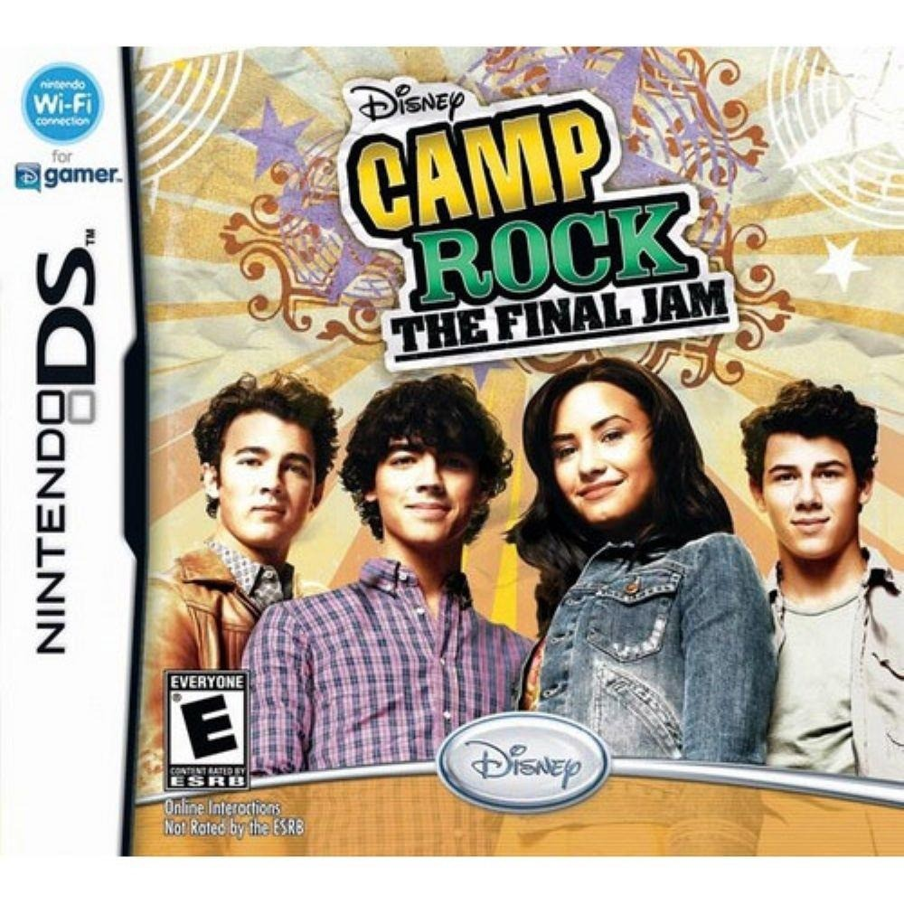 Jogo Nintendo DS Disney Camp Rock: The Final Jam