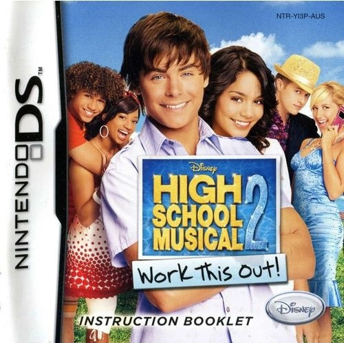 Jogo Nintendo DS Usado High School Musical 2: Work This Out