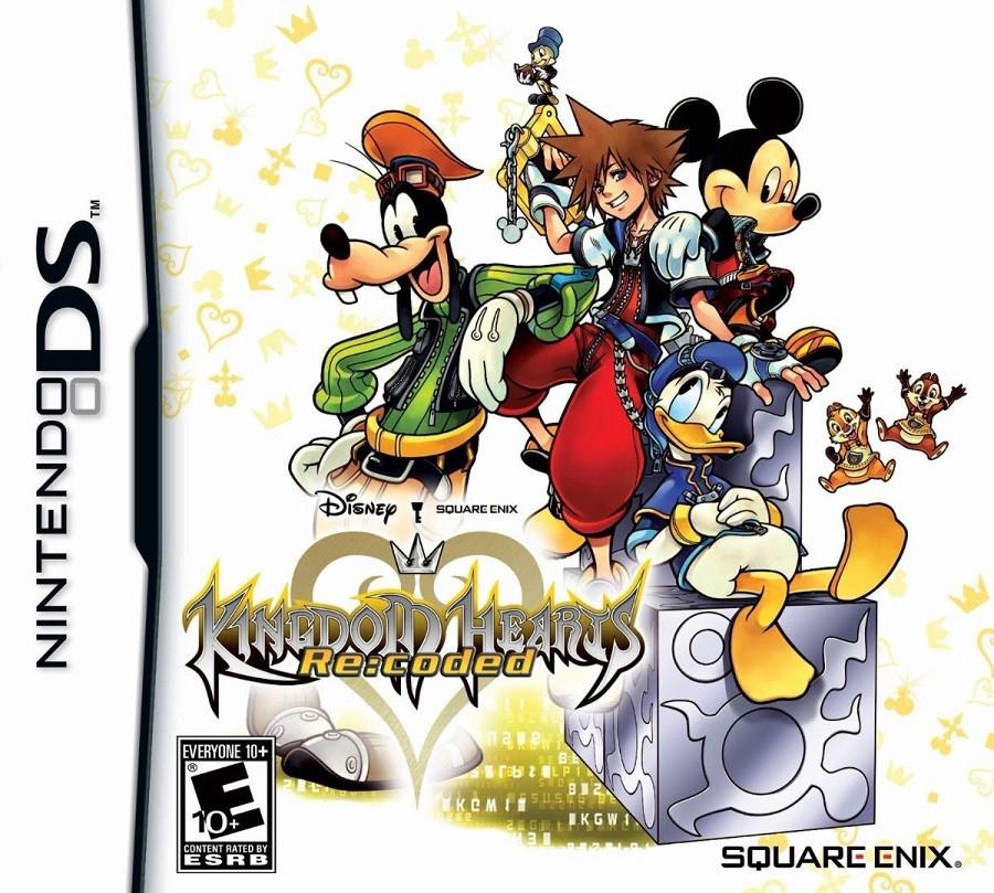 Jogo Nintendo DS Usado Kingdom Hearts: Re Coded
