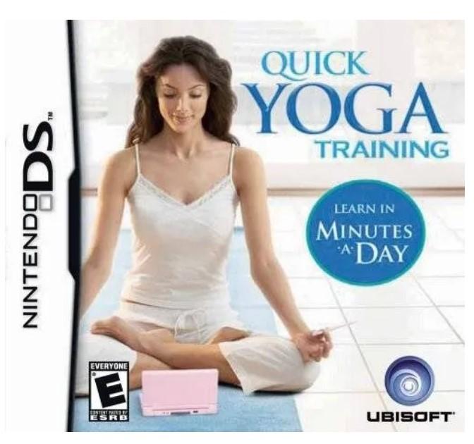 Jogo Nintendo NDS Quick Yoga Training