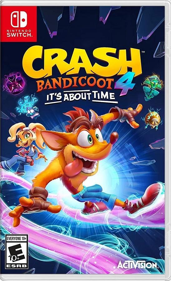 Jogo Nintendo Switch Crash Bandicoot 4: It´s About Time