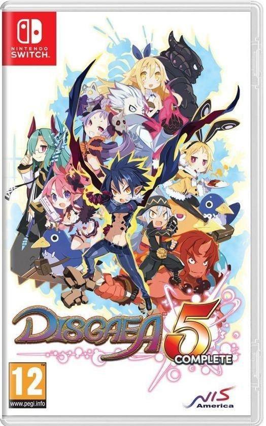 Jogo Nintendo Switch Disgaea 5 Complete