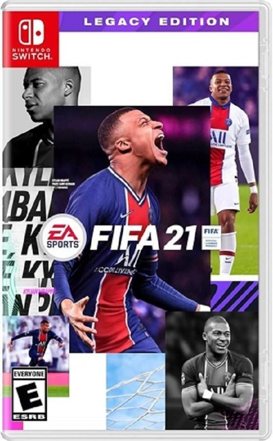 Jogo Nintendo Switch FIFA 2021 (Nordic) Legacy Edition