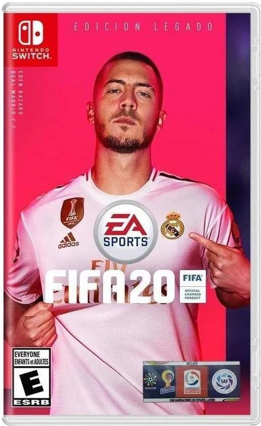 Jogo Nintendo Switch FIFA 20 Legacy Edition