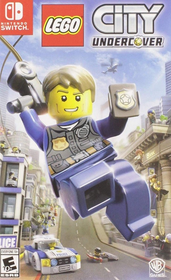 Jogo Nintendo Switch Lego City Undercover