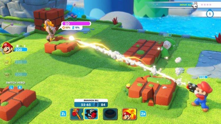 Jogo Nintendo Switch Mario + Rabbids Kingdom Battle