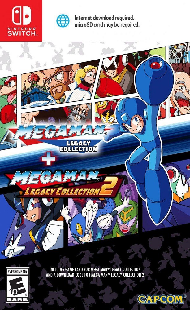 Jogo Nintendo Switch Mega Man Legacy Collection