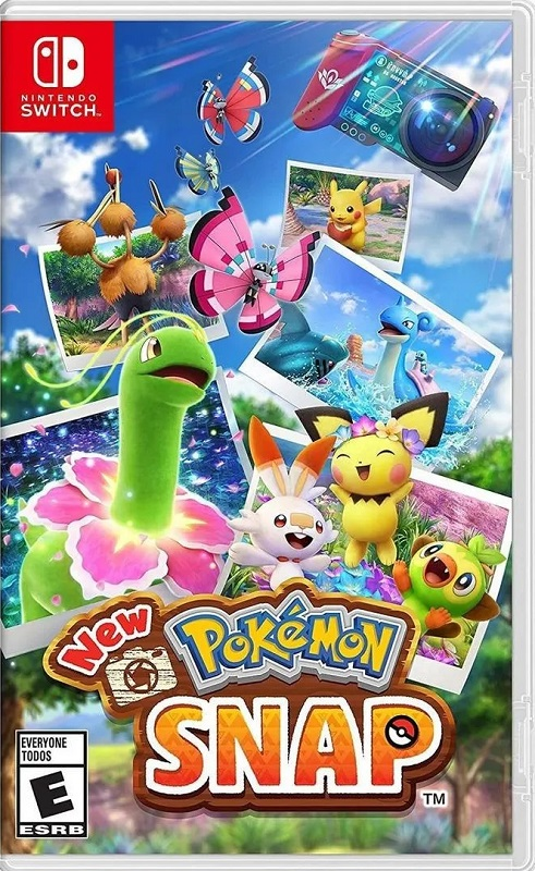Jogo Nintendo Switch New Pokemon Snap