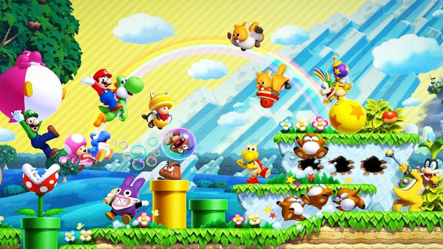 Jogo Nintendo Switch New Super Mario Bros. U Deluxe