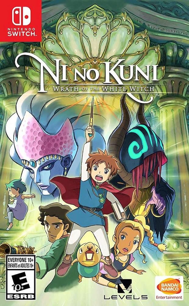 Jogo Nintendo Switch Ni No Kuni Wrath Of The White Witch Remaster