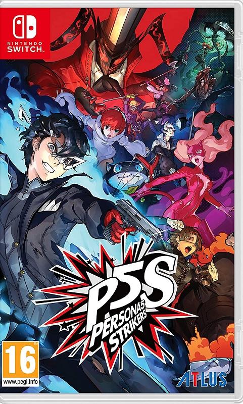 Jogo Nintendo Switch Persona 5 Strikers - Switch