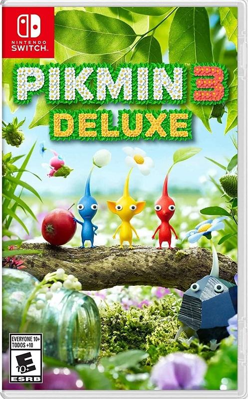 Jogo Nintendo Switch Pikmin 3 Deluxe Switch Mídia Física Novo Lacrado Original
