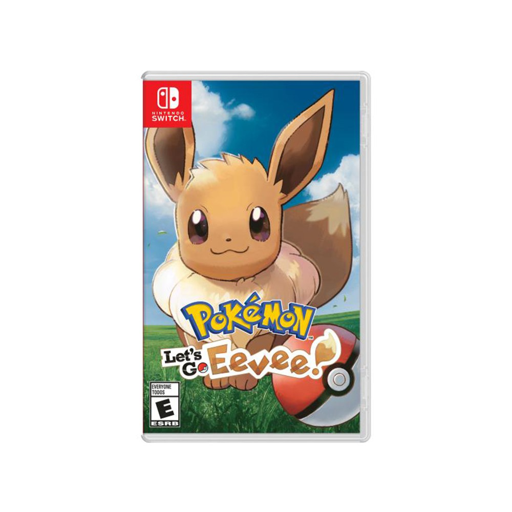 Jogo Nintendo Switch Pokémon: Let's Go, Eevee!