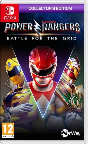 Jogo Nintendo Switch Power Ranges: Battle For The Grid - Collector´s Edition
