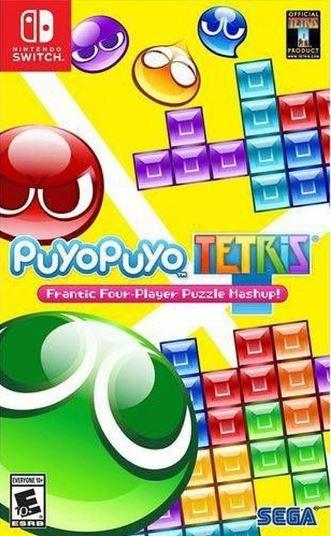 Jogo Nintendo Switch Puyo Puyo Tetris