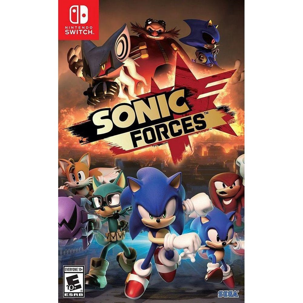 Jogo Nintendo Switch Sonic Forces