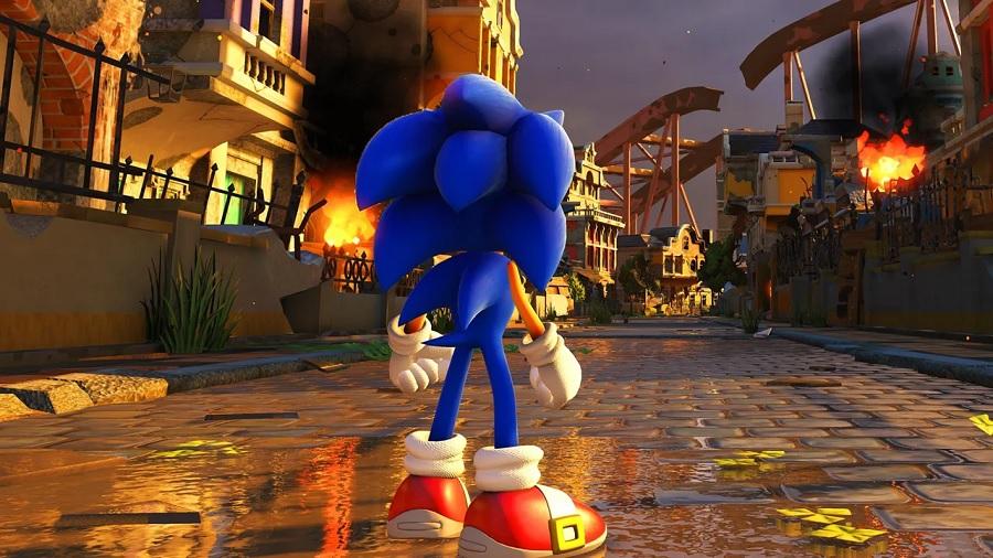 Jogo Nintendo Switch Sonic Forces